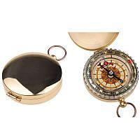 Портативный латунный компас