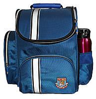 Ранец каркасный ортопедический Tiger Однотонный 63001 Синий