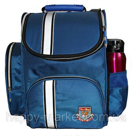 Ранец каркасный ортопедический Tiger Однотонный 63001 Синий, фото 2