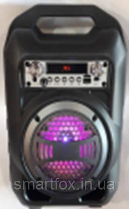 Портативная колонка Bluetooth BS-12 в виде мини-чемодана, фото 2