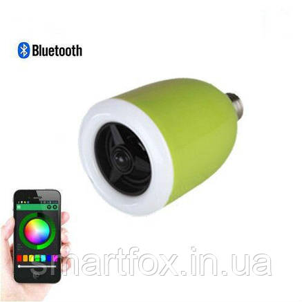 Портативная колонка Bluetooth YY-100 ЛАМПА, фото 2