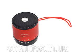 Портативная колонка Bluetooth WSTER WS-529 USB, micro SD, FM, фото 2