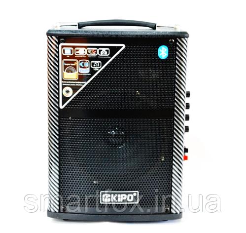 Портативная колонка Bluetooth KIPO KB-Q1 в виде чемодана, фото 2