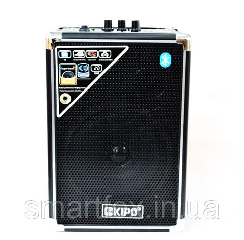 Портативная колонка Bluetooth KIPO KB-Q2 в виде чемодана, фото 2