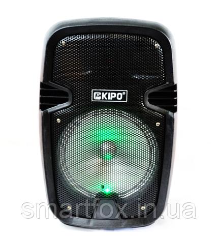 Портативная колонка Bluetooth KIPO KB-Q5 в виде чемодана, фото 2