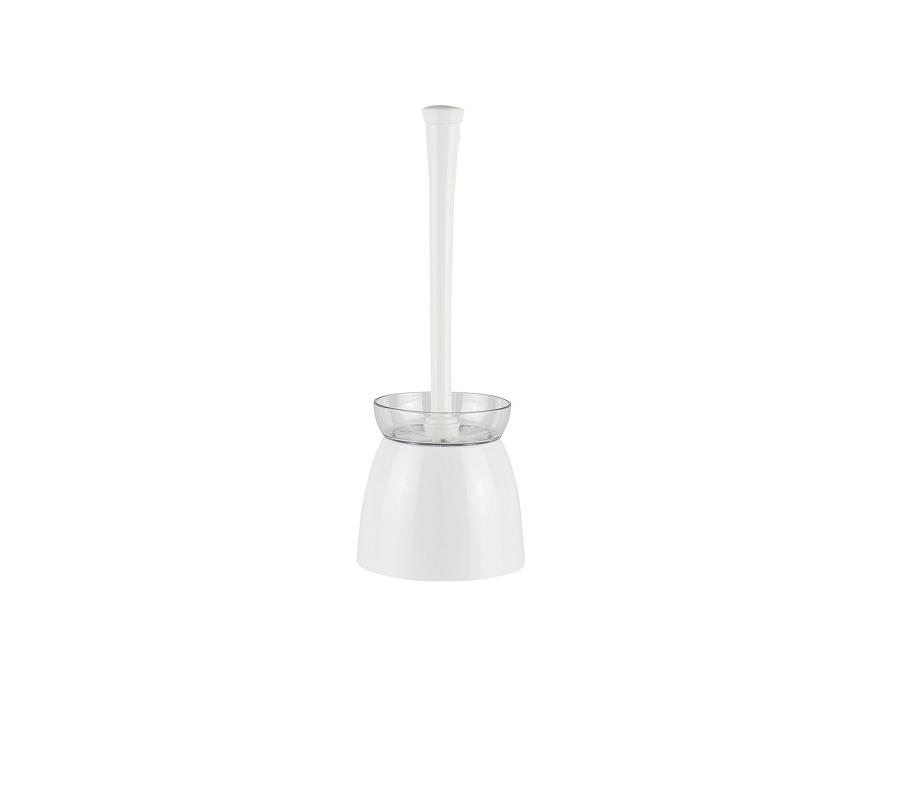 Щетка туалетная Дуо (цвет белый)