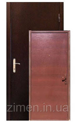Дверь входная Шагрень уличного применения