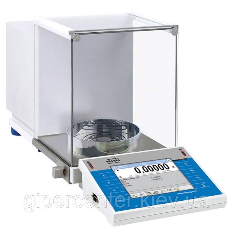 Весы аналитические Radwag ХА 52.4Y/F до 52 г, дискретность 0,00001 г