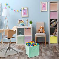 Складная корзина для игрушек Sorbus Foldable Storage Cube Basket Bin  в ассортименте, фото 1