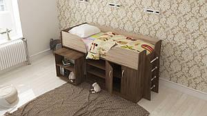 Детская кровать трансформер Пумба