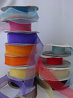 Лента органза 2 см, цвета разные, фото 1