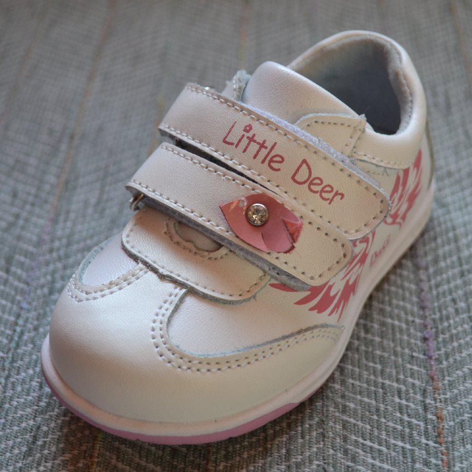 Детские кроссовочки на липучках, B&G размер 21