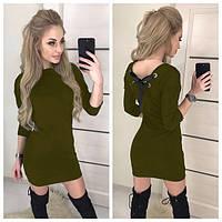 """Платье женское """"Leylaa"""" 48, хаки"""