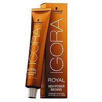 Igora High Power Browns -Модное окрашивание для темных волос