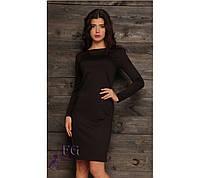 """Женское платье """"Dress code"""" черное, 46 оптом"""