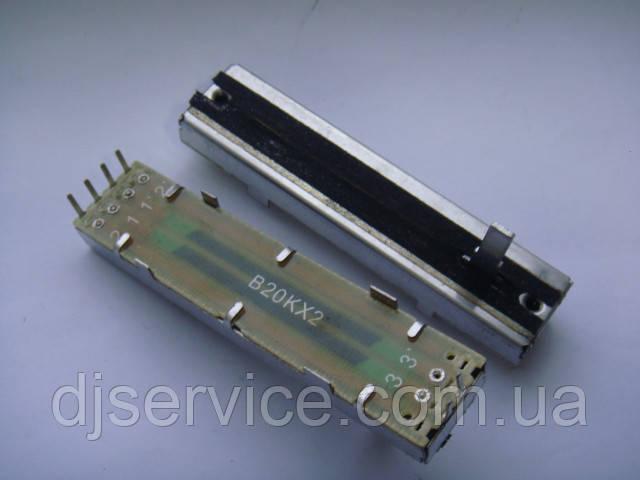 Фейдер 704-DJM250-A032-HA (неоригинал) 72mm, B20Kx2, 15mm