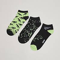 Шкарпетки (Носки) короткие Cropp -  QL410-99X с принтом динозавра