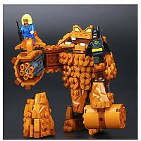 Конструктор лего Атака Глиноликого Lego Batman Movie  70904