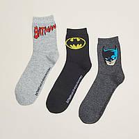 Шкарпетки (Носки) Cropp х Batman - RC942-90X с принтом бэтмена