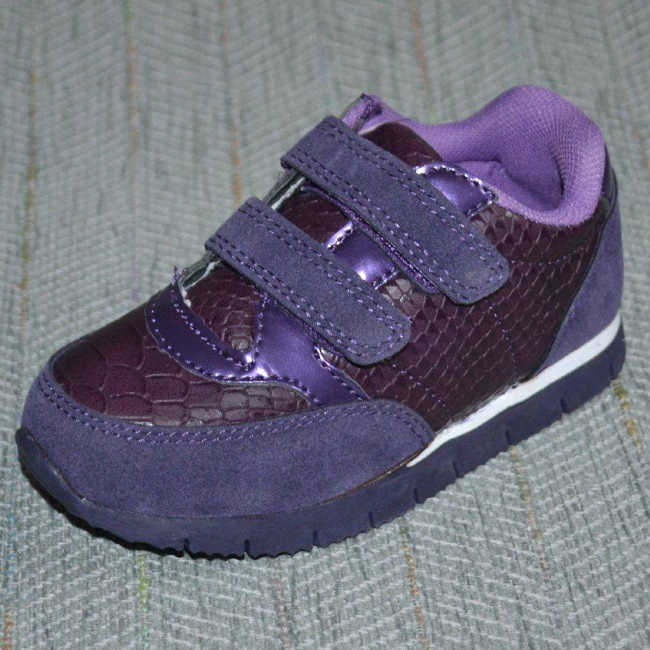 Детские кроссовки на липучках, Arial размер 23