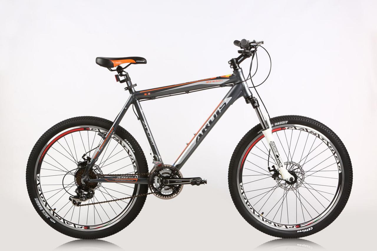 """Горный велосипед ARDIS ZSIO MTB 26"""" 19""""  Серый/Оранжевый"""
