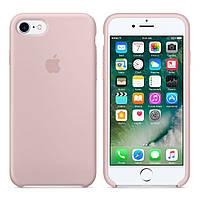 Силиконовый чехол Apple Silicone Case IPHONE 6/6s (Pink Sand)+ Стекло !!!
