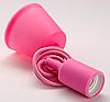 Подвесной светильник E27 розовый 1м, LMA074