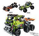 """Конструктор Decool 3414 """"Пустынный Гонщик"""" (Lego Technic 42027), 148 дет, фото 2"""