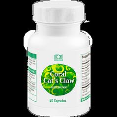 Корал Кошачий коготь - Повышает общий тонус организма при первых признаках простуды и во время болезни. 60 кап