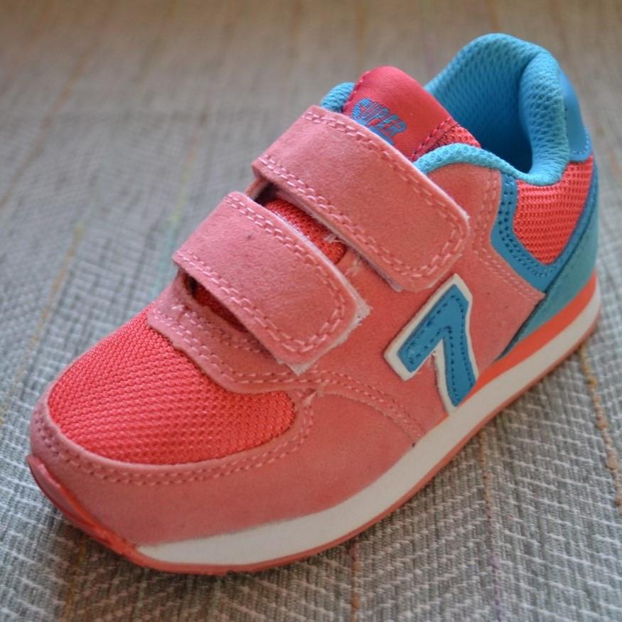 Кросівки для дівчаток 2-4 років, Super Gear розмір 25 27
