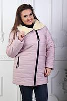 """Зимняя куртка Big большие размеры"""" + 3 новых цвета до  52"""