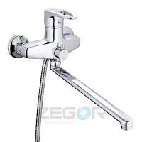 Смеситель для ванны ZEGOR SWZ7-A182