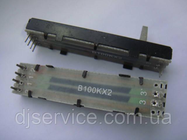 Кроссфейдер AI4691  DELTA 73mm, B100K для Allen & Heath Xone 32, Xone 42