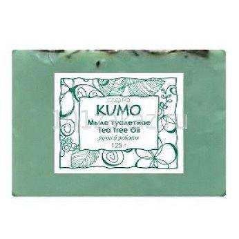 """""""Kumo"""" Мыло туалетное ручной работы """"Tea Tree Oil"""", 125 г, фото 2"""