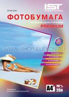 Фотобумага IST Premium глянец 190гр/м, А4 (21х29.7), 20л.