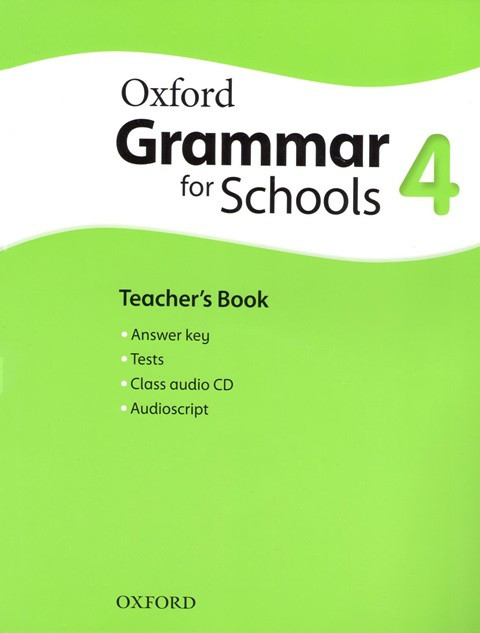 Oxford Grammar for Schools 4 Teacher's Book with Audio CD (Книга учителя)