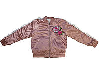 Куртка демисезон 2-х стороняя для девочки Glo-Story, размеры 110-160 , арт. GFY-5908, фото 1