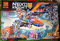 Конструктор Bela 10596 Nexo Knight Самолет-истребитель Сокол Клэя 10596 529 дет, фото 1