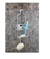 Полиця на душ навісна нержавіюча, Київ, фото 1