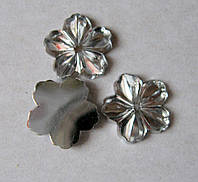 Стразы клеевые. Цветок, 14 мм