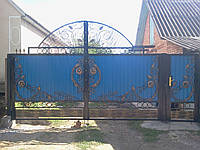 Кованые ворота Аркадий