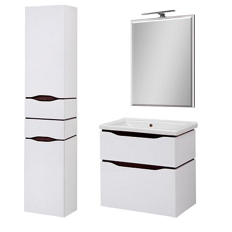 Комплект мебели для ванной комнаты Сенатор 60 подвесной с зеркалом Юввис, фото 2