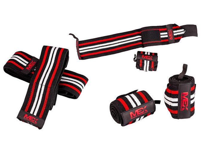 Wrist Wraps Red Black
