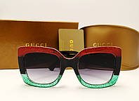Женские солнцезащитные очки Gucci 0083 copy (Цвет гуччи), фото 1