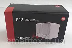 Колонки для PC 2.0 K12, фото 2
