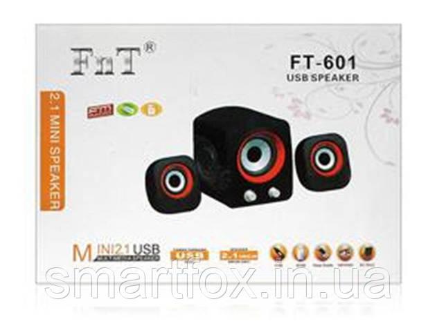 Колонки для PC 2.1 FT-601, фото 2