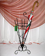 Зонтовница конусная малая. Кованая подставка под зонты, фото 1