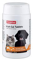 """IRISH CAL TABLETS """"BEAPHAR"""" АЙРИШ КАЛЬ ТАБЛЕТКИ витамины для беременных и кормящих собак и кошек, 150 шт"""