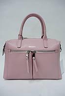 Женская кожаная сумка Galanty 10461 l.pink