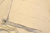 Волейбольная сетка с тросом  капроновая D 1,2мм., 15см. ячейка для волейбола обшита с 4 сторон Капрон 15 норма